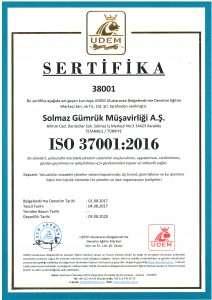 Sertifika 37001