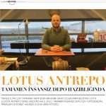 Ulaşım Sektörü Dergisi Mart Sayısı Haberi